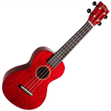 Mahalo MH2 Transparent Red Concert Ukulele